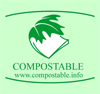 Look for this Compostable Logo